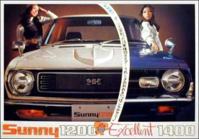 Datsun Sunny 1970–1973 (B110)