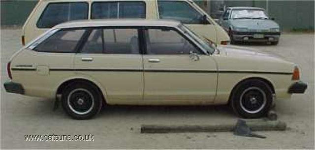 1981 datsun b210 wagon